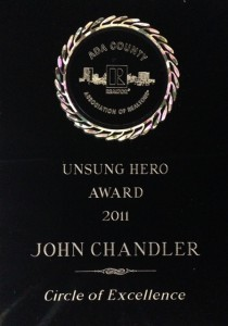 Unsung Hero Award